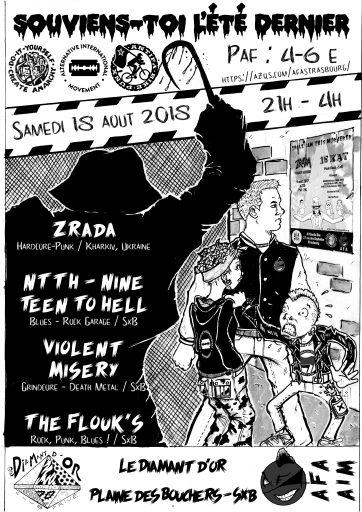 Concert : Souviens-toi l'été dernier // Punk Blues Grind @ Le Diamant d'or | Strasbourg | Grand Est | France